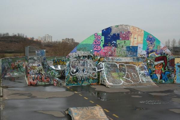 Freizeitpark Marienfelde - Skateranlage