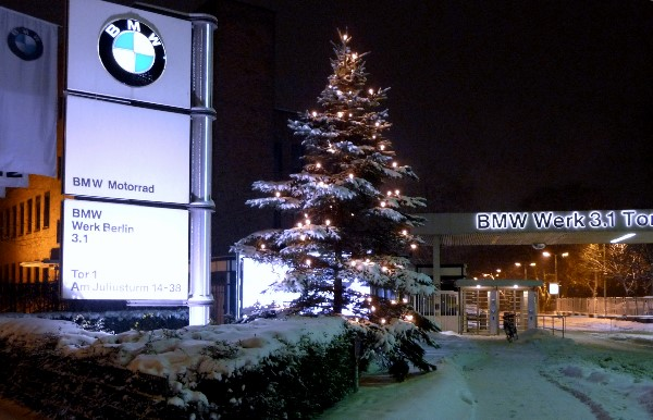 Weihnachtsbaum Bmw